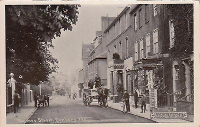 Thames Street, Sunbury, Surrey, old postcard, unposted