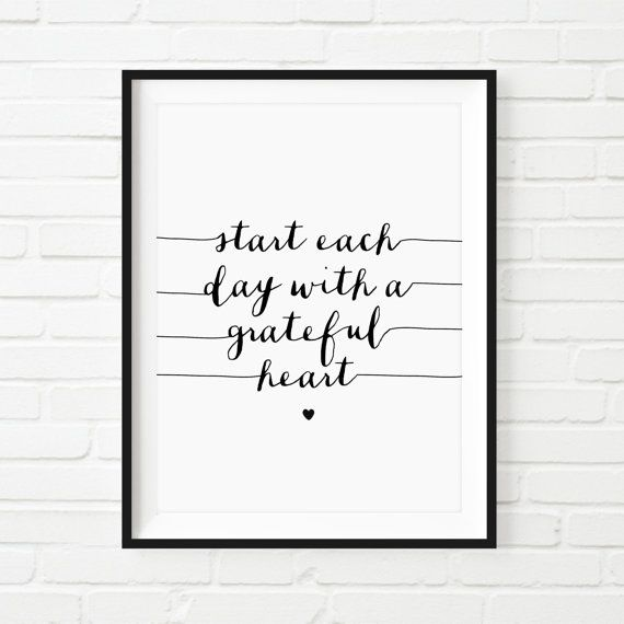 Printable Art Motivational Print Home Decor by TheMotivatedType