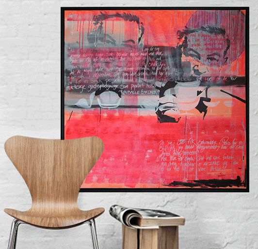 """Palletart by Marie Prokopek  """"Jacobsen""""  http://marieprokopek.com/"""