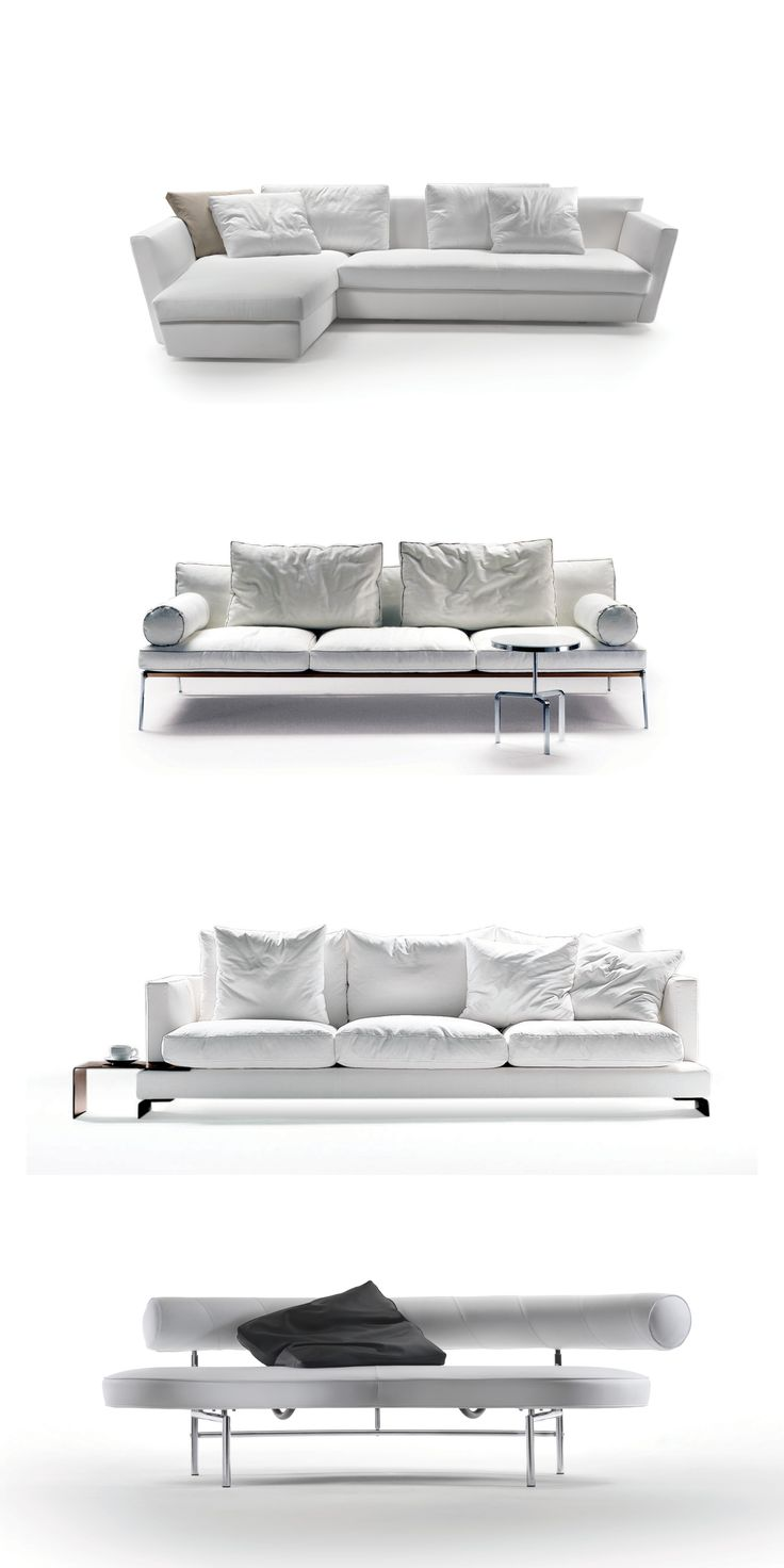 FLEXFORM, about #white. #Ispiration in white from the Flexform collections