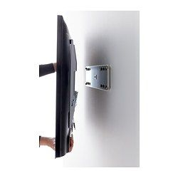 """IKEA - UPPLEVA, Wall bracket for TV, fixed,  , 37-55 """", , The built-in level makes it easy for you to hang your TV straight."""