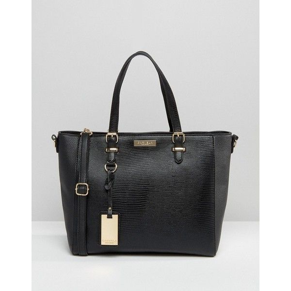 Carvela Dina Winged Tote Bag (96 CAD) ❤ liked on Polyvore featuring bags, handbags, tote bags, black, zip top tote, winged handbag, tote bag purse, wing tote and handbags tote bags