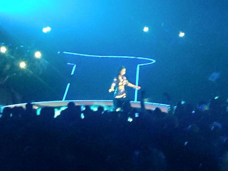 Jhene Aiko on stage #MTVMAMA12015
