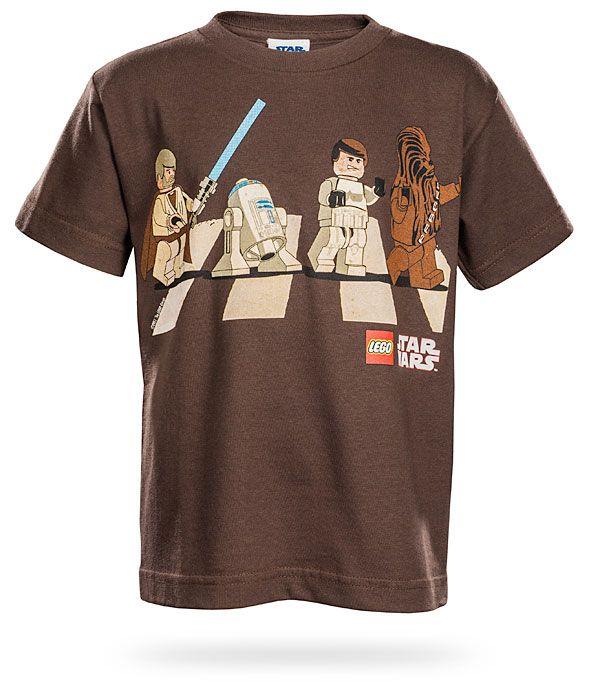 ThinkGeek :: LEGO Star Wars Abbey Road Kids' Tee