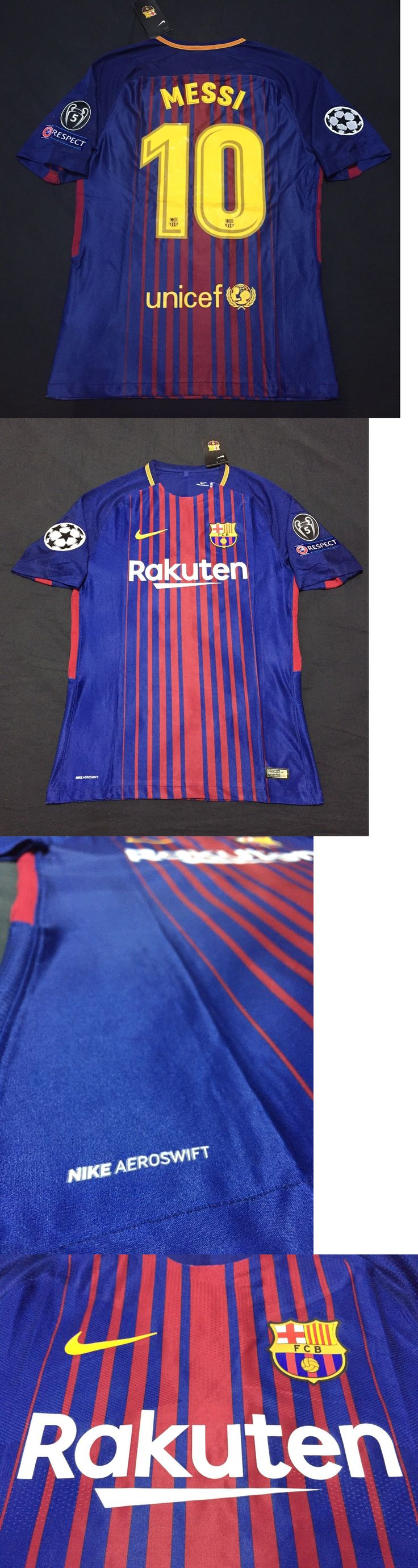 Soccer-International Clubs 2887: Fc Barcelona Jersey 2017 18 Messi #10 Vapor Match Aeroswift Player Version Small -> BUY IT NOW ONLY: $93.99 on eBay!