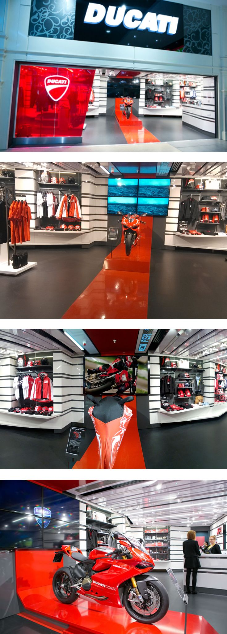 Ducati new store concept - designed by GH+A