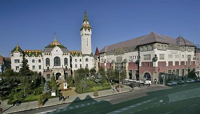 The center in Targu Mures, Romania- where i've been so many times