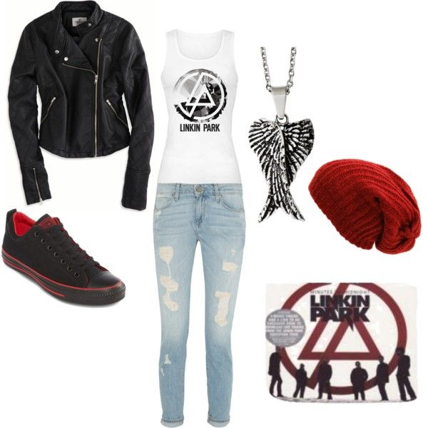 Linkin Park inspired outfit
