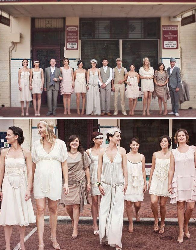 mix n match for bridesmaids