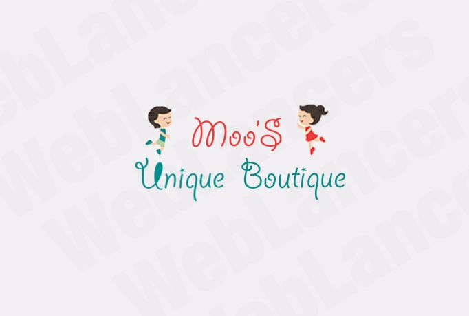 This Logo is for a Boutique Shop
