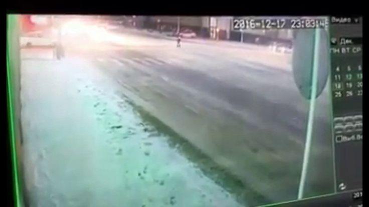 В Грозном жестоко сбили Полицейского в результате погони