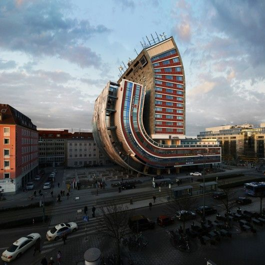 One hotel, 88 possibilities. © Victor Enrich