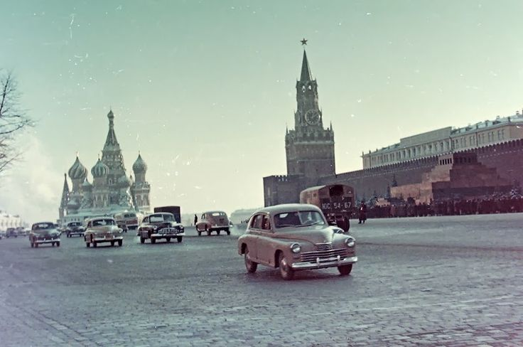 vintage everyday: Moscow and Leningrad in 1958