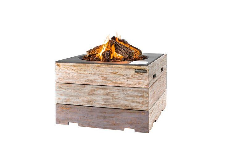 Deze trendy vuurtafel in steigerhout 'look' brengt de sfeer van een houtvuur in uw tuin met een druk op de knop! De tafel is gemaakt van degelijk teakhout en past bij iedere lounge-hoek. http://gardenmart.nl/vuurtafels-happy-cocooning/717-happy-cocooning-nice-nasty-vuurtafel-vierkant-antraciet.html#/accessoires-_
