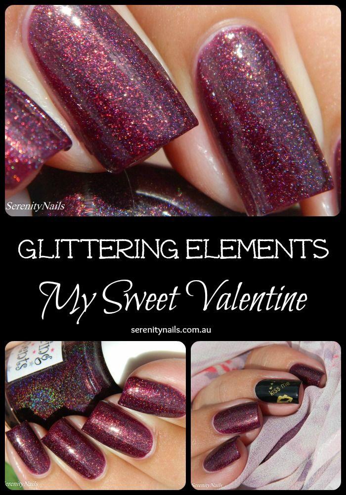 Glittering Elements- My Sweet Valentine. Valentine's 2015 trio