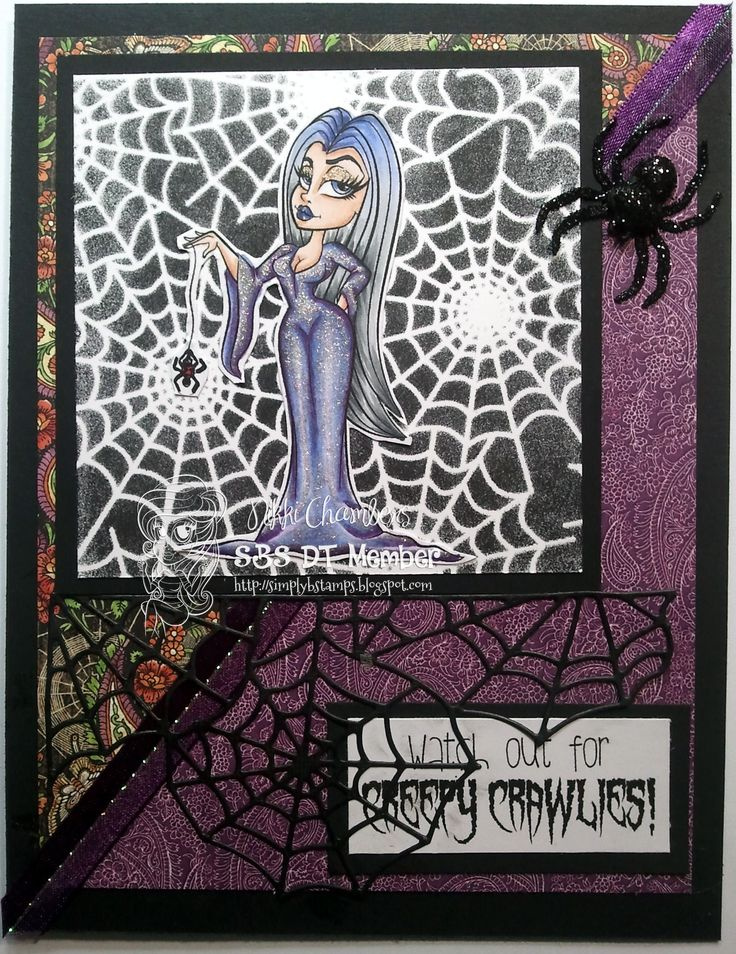 Arachnia Ana from Simply Betty Stamps