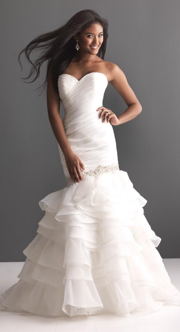 85 best wedding dresses <3 images on Pinterest | Short wedding ...