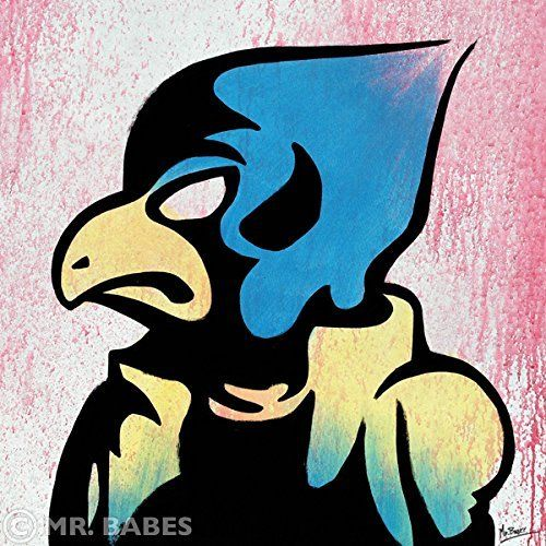 """MR.BABES """"Star Fox: Falco Lombardi"""" Original Pop Art Painting One Of A Kind Acrylic On Canvas Signed 30"""" x 30"""". 30"""" x 30"""" Acrylic On Canvas Painting. Original, Hand Painted, & One Of A Kind. Certificate Of Authenticity Included."""