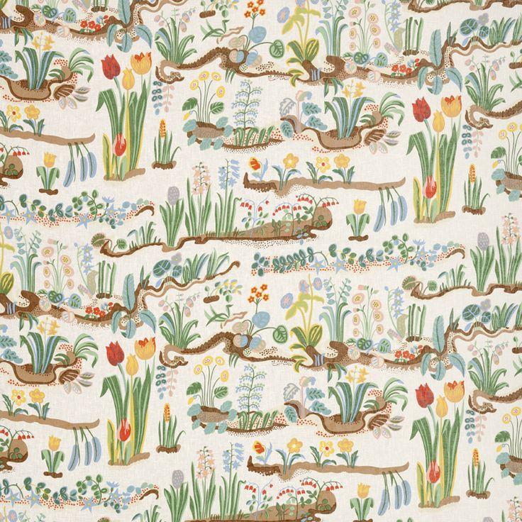 Prima Vera by Josef Frank #Textiles #Josef_Frank #Svenskt_Tenn