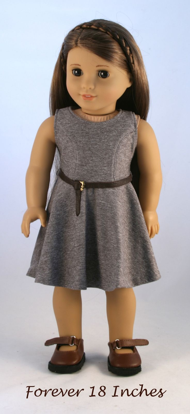 114 best the versatility dress images on pinterest american girl the versatility dress pattern made in a gray performance knit unlined princess seam bodice with bankloansurffo Image collections