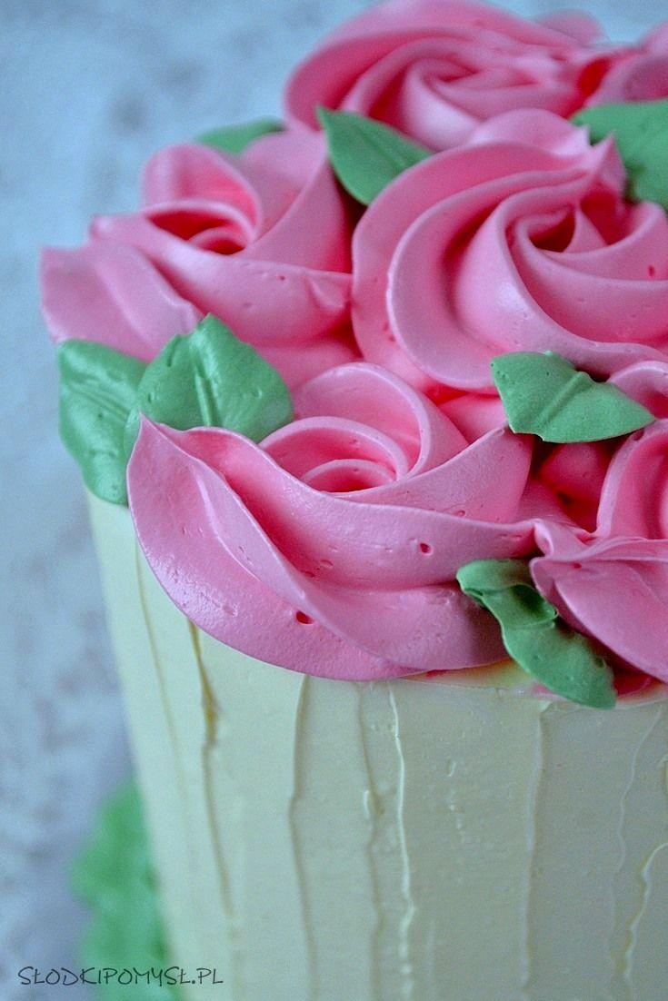 Krem Maslany Z Mlekiem Skondensowanym Krem Do Tynkowania Maslo Mleko Skondensowane Krem Maslany Do Dekoracji Ruby Red Velvet Bakery Shop Rose