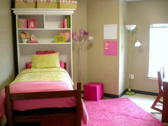 custom made overbed shelving  Dorm RoomCollege Ideas  ~ 021824_Auburn Dorm Room Ideas