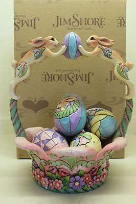 15 best jim shore easter baskets i own images on pinterest easter jim shore 2008 spirit of easter basket includes 5 eggs new in box ebay negle Image collections