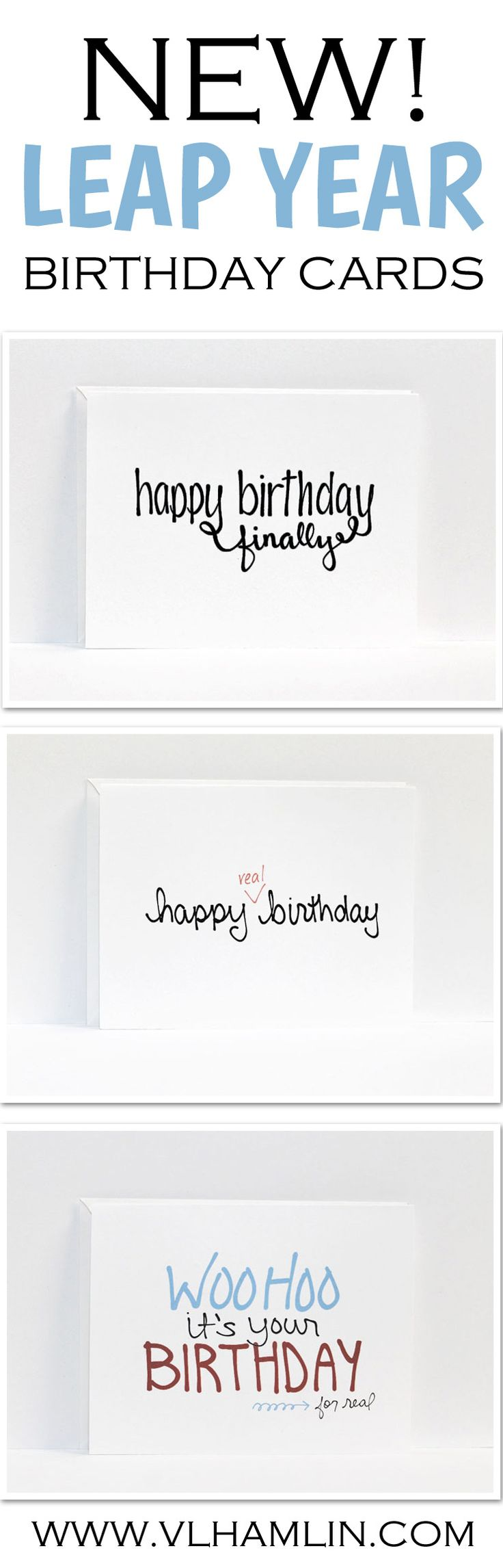 Leap Year Birthday Cards