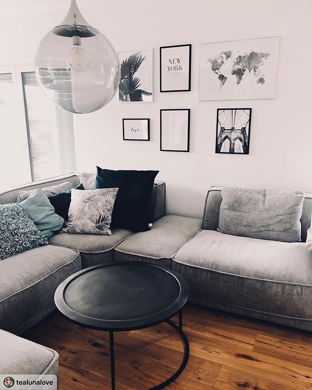 Graues Sofa Graues Sofa Bequemes Sofa Sofa