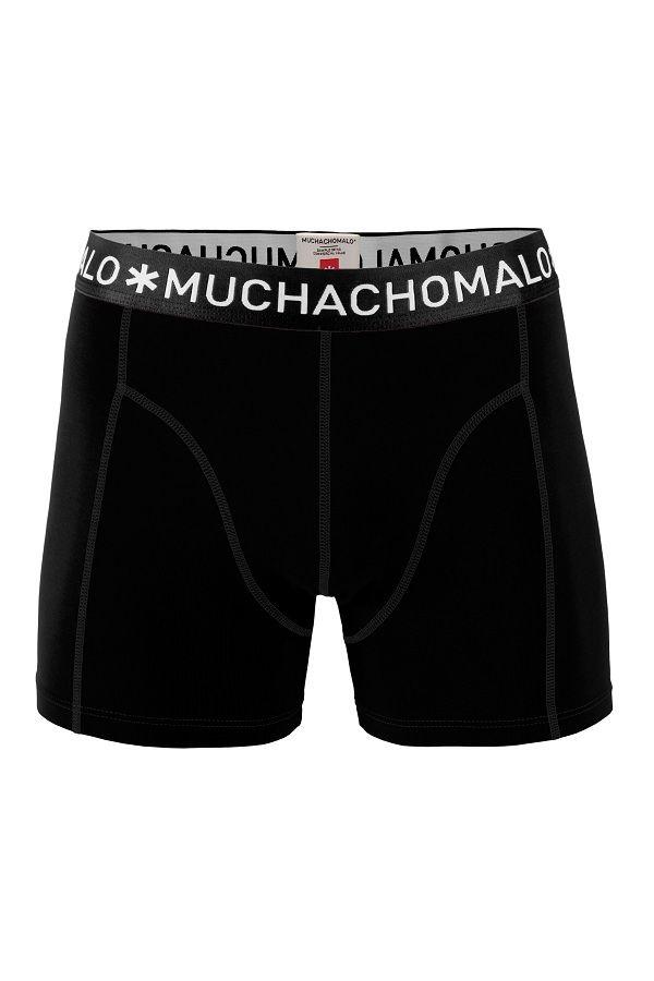 Muchachomalo zwembroek voor jongens tight fit zwart