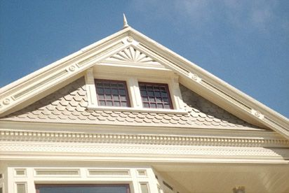 236 best images about my old 1880 39 s home on pinterest for Fypon gable pediments