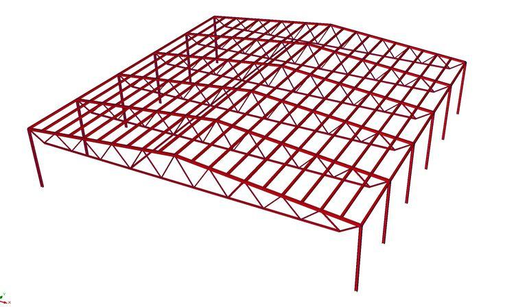 Примеры расчета металлоконструкций  3D проектирование зданий и сооружений Расчет металлоконструкций, разработка КМ, КМД, АС быстро и качественно тел.: +7 (906) 506 17 30 info@3d-kmd.ru  #КМ #КМД #3D #Чертежи #Разработка #Металлоконструкции #Проектирование #МК #МЗ #ЛМК #ЛСТК #Строительство #SCAD