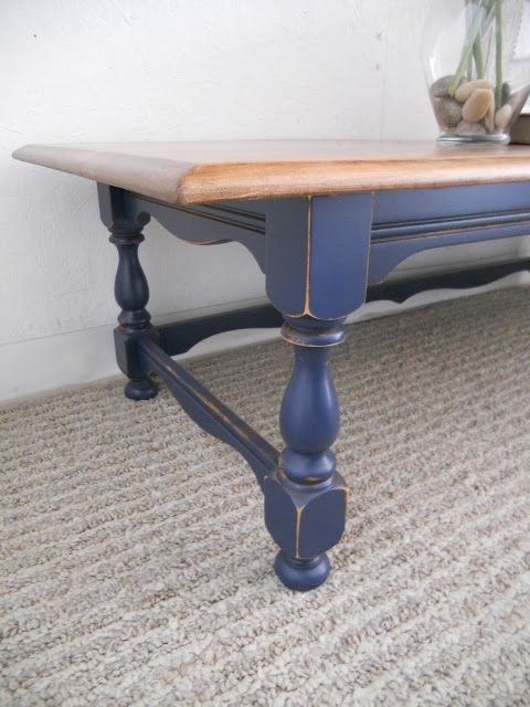 color for the chest/coffee table - Navy Coffee Table