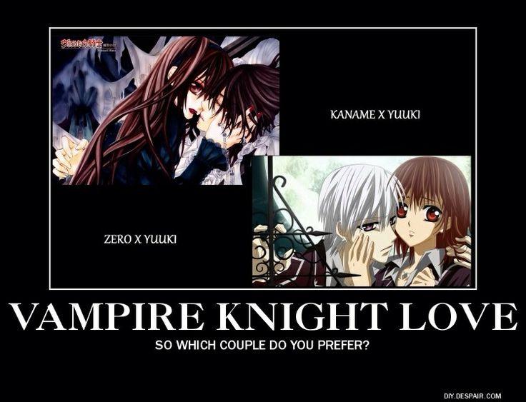 Vampire Knight Kaname And YukiYUME 4 LYFE YO