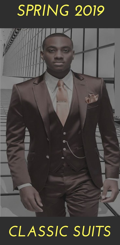 afb01306cd Men Brown Suit Formal Italian Design Tuxedo Custom 3 piece Wedding ...