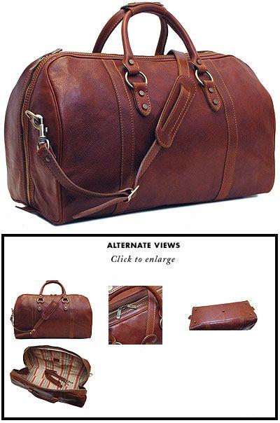 Floto Roma Leather Cabin Bag