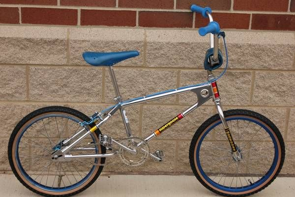 """The 1980 Mongoose Supergoose... My first BMX bike. This one is the exact build I had - it sparked the """"BMX"""" fire for me! An original Supergoose in this condition would probable fetch about $5,000 today!"""