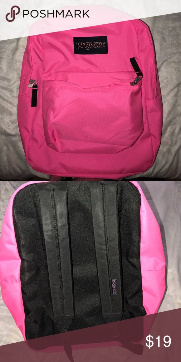 Pink Jansport Backpack Brand new never used it! Jansport Accessories