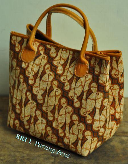 Sri Parang Peni (Tas Kulit Batik)..Karyatasku
