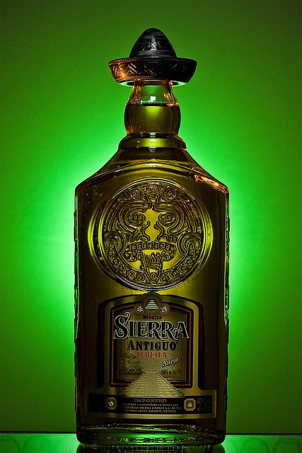 Sierra Antiguo Tequila bottle