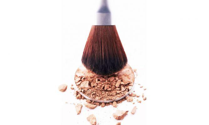 Arreglar maquillaje compacto roto - Hogarutil