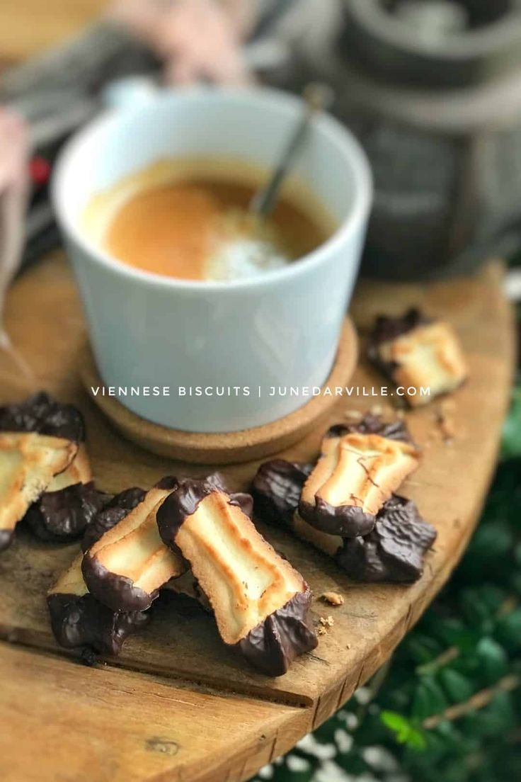Viennese Biscuits Cookie Recipe