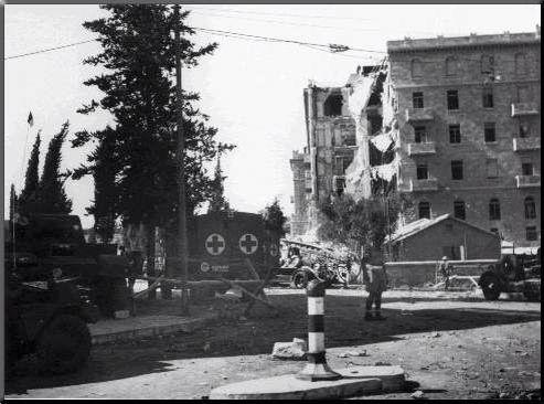 King David Hotel bombing in Jerusalem