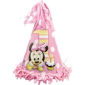 Minnie Mouse 1st Birthday Party Hat - Party City