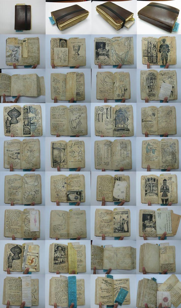 S'wak Props: Grail Diary Hero Prop Replica from Indiana Jones and the Last Crusade