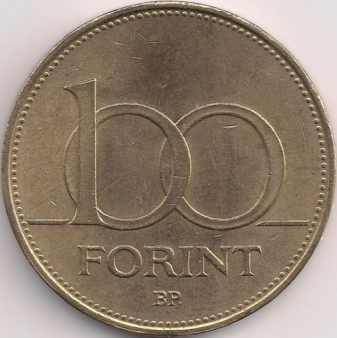 Motivseite: Münze-Europa-Mitteleuropa-Ungarn-Forint-100.00-1992-1998