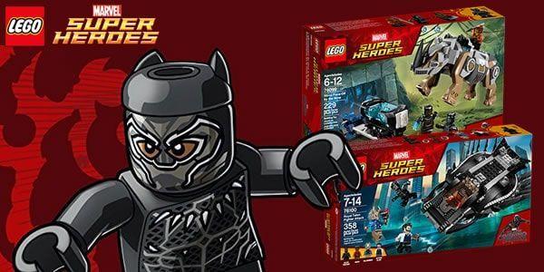 Shop LEGO : les deux sets Marvel Black Panther sont disponibles: Les deux sets basés sur le film Black Panther sont déjà disponibles… #LEGO