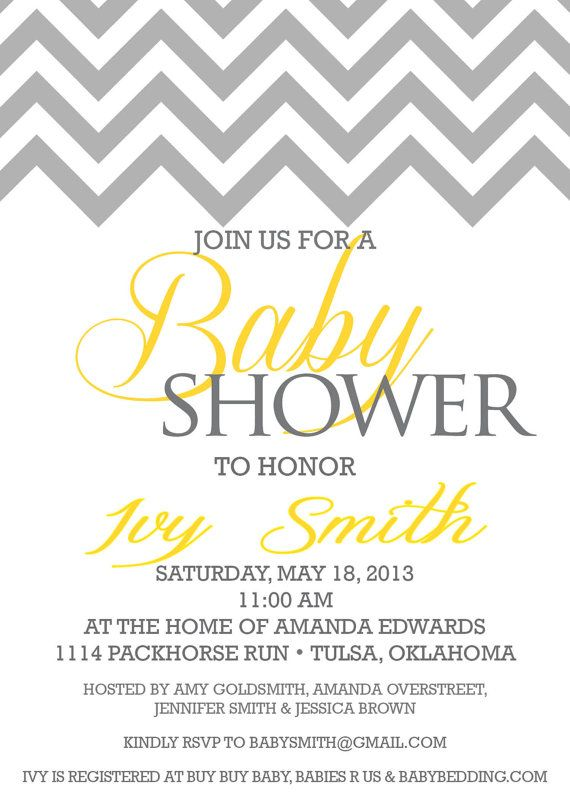 It's close but only allows for the grey/white and one other color. Close thought!   Custom baby shower invitation, chevron baby shower invitation, unisex baby shower