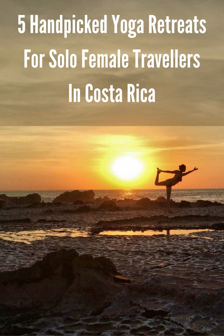 Travling solo and looking for a winter yoga getaway? Here are 5 magical, handpicked retreats in Costa Rica for you! http://montezumayoga.com/yoga-retreats-for-solo-female-travellers-in-costa-rica/