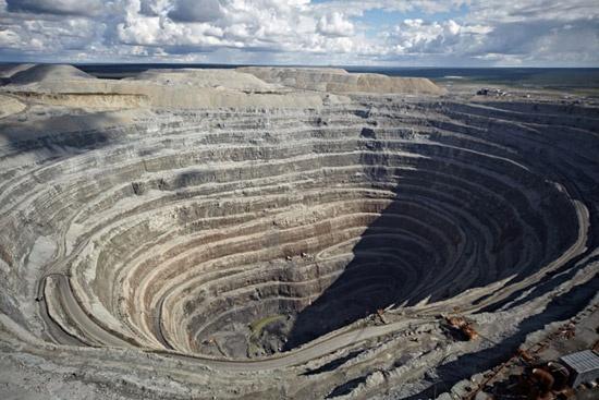 Cum se extrag diamantele